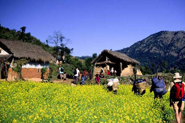 Beautiful Nepal Wondering Around The Villages Of Nepal