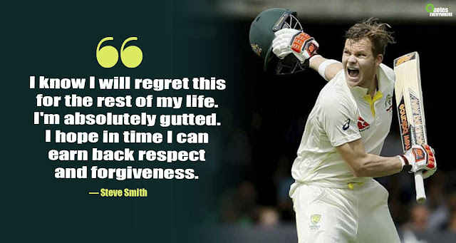 Steve Smith Quotes Cricket