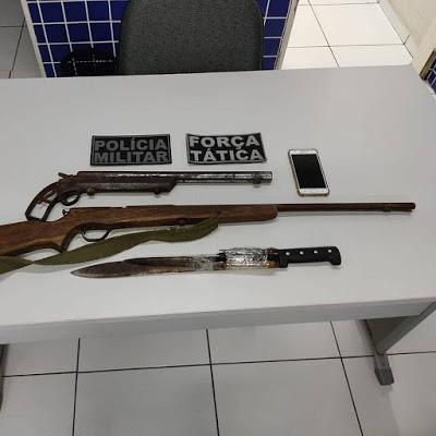 GPM de Elesbão Veloso é decisivo para prisão de elemento acusado de assaltos.