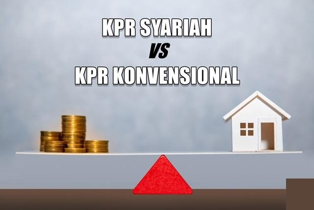 Perbedaan Dasar Prinsip KPR Syariah Dan KPR Konvensional