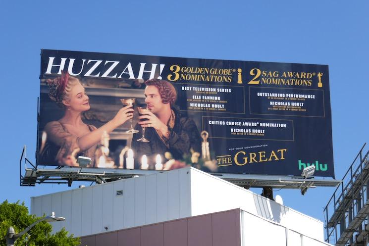 Great 2021 Golden Globe nominee billboard
