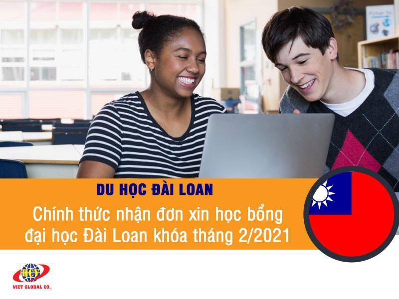 Du học Đài Loan: Chính thức nhận đơn xin học bổng đại học Đài Loan khóa tháng 2/2021