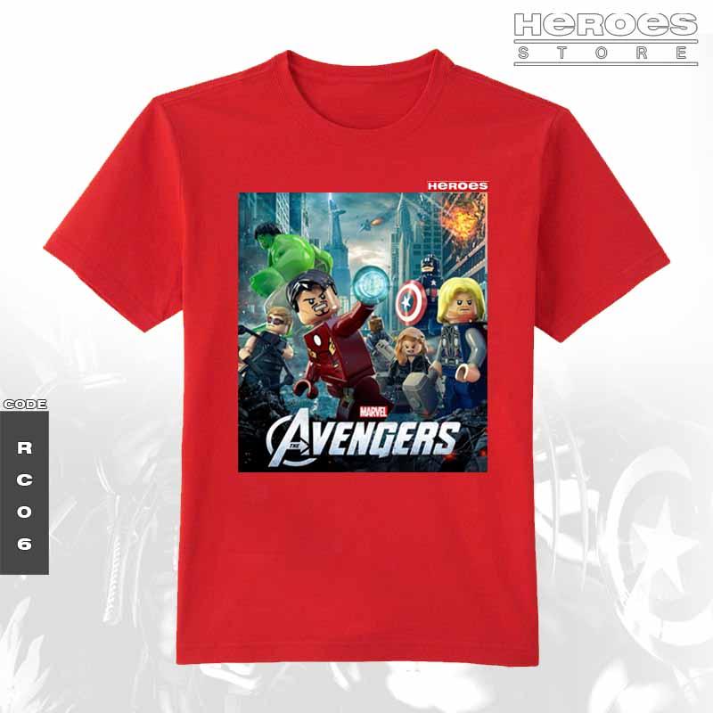 Heroestore The Avengers Lego T Shirt