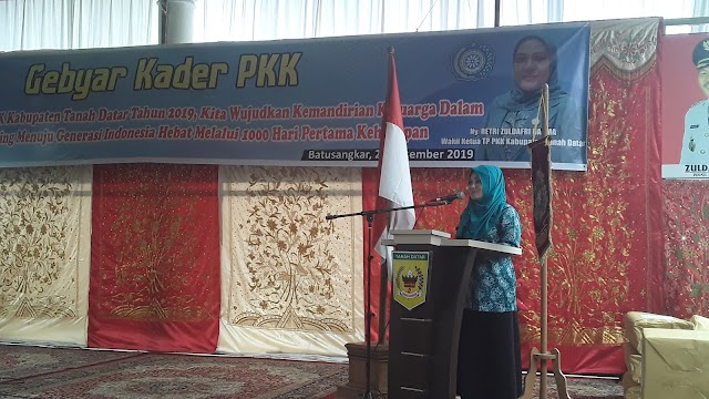 CEGAH STUNTING, TP PKK KABUPATEN ADAKAN GEBYAR KADER