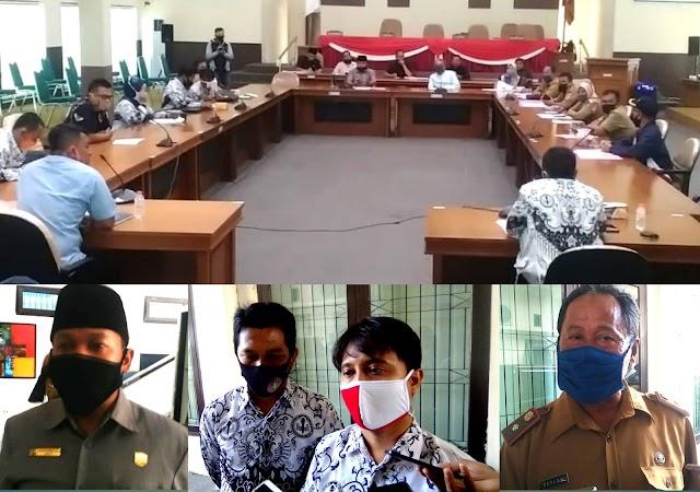 DPRD Banjar Dukung Penuh AS PGRI Penggunaan Bos 50% Dan Semua Sukwan Rata UMR