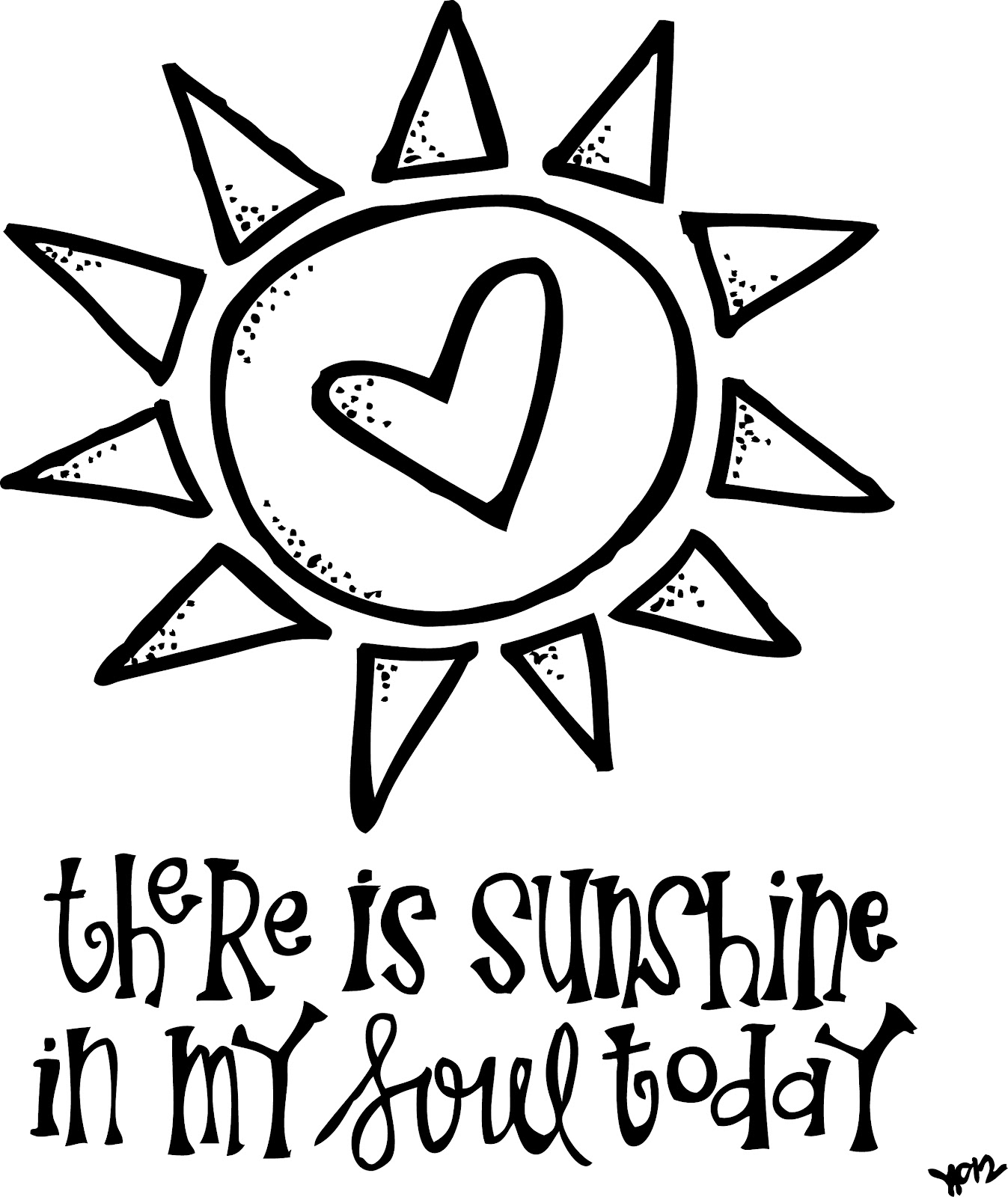 coloring pages sunshine - photo#6