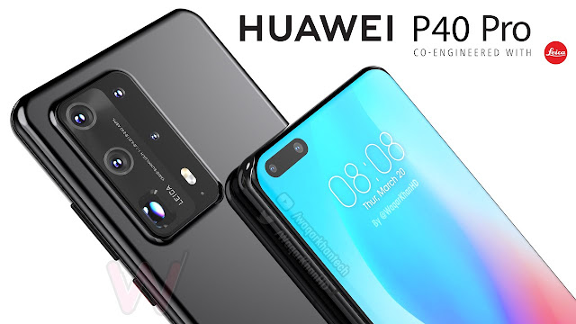 Huawei P40 and P40 Pro appear on TENAA with dual-mode 5G.