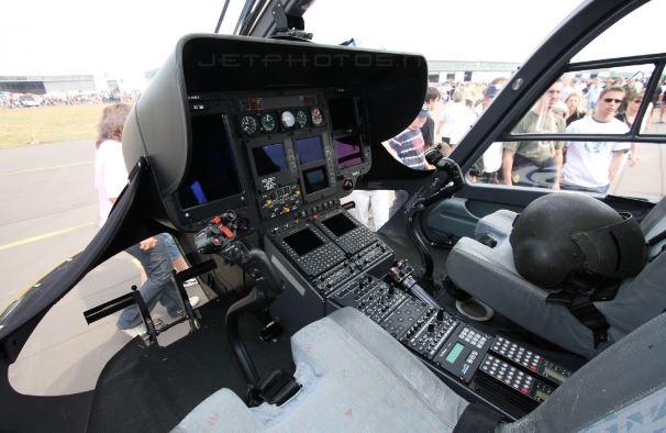 Eurocopter EC145 cockpit