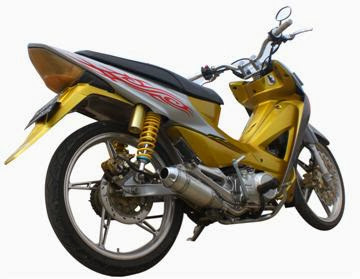 Modifikasi Motor Honda Absolute Revo