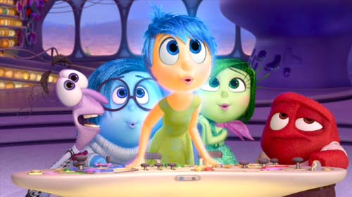 Bill Hader, Phyllis Smith, Amy Poehler, Mindy Kaling, Lewis Black in Inside Out