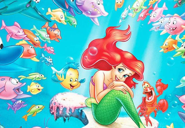 Hình ảnh hoạt hình nàng tiên cá đẹp và dễ thương nhất