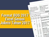 Format BOS 2017 Excel Sesuai Juknis Tahun 2017