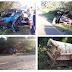 Homem morre em grave acidente entre carro e caminhão na PR-281