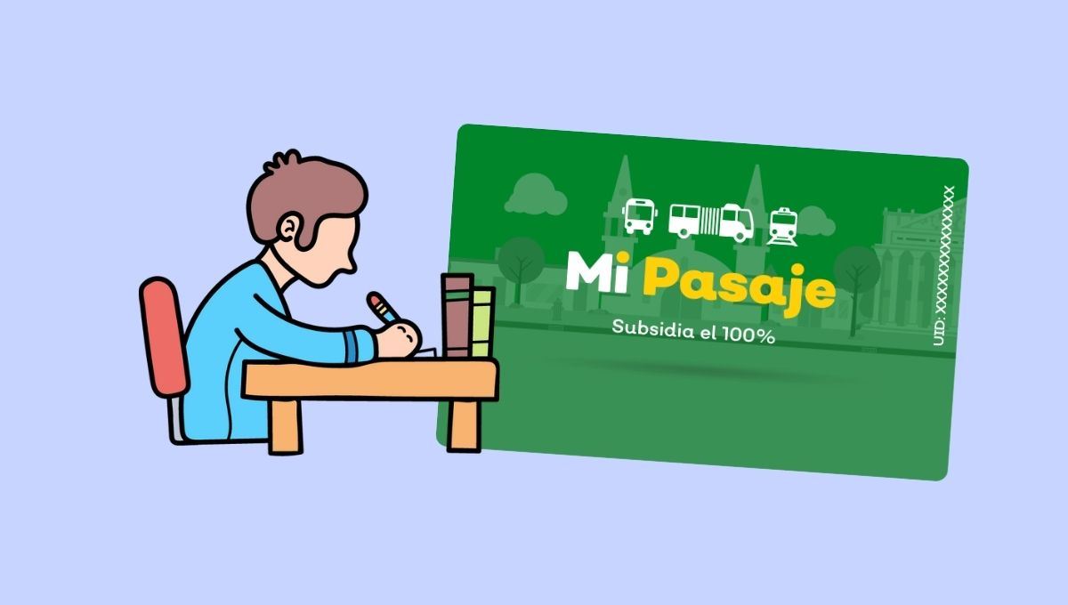 tarjeta de mi pasaje verde para estudiantes