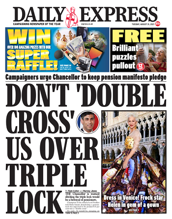 Daily Express Magazine 31 August 2021