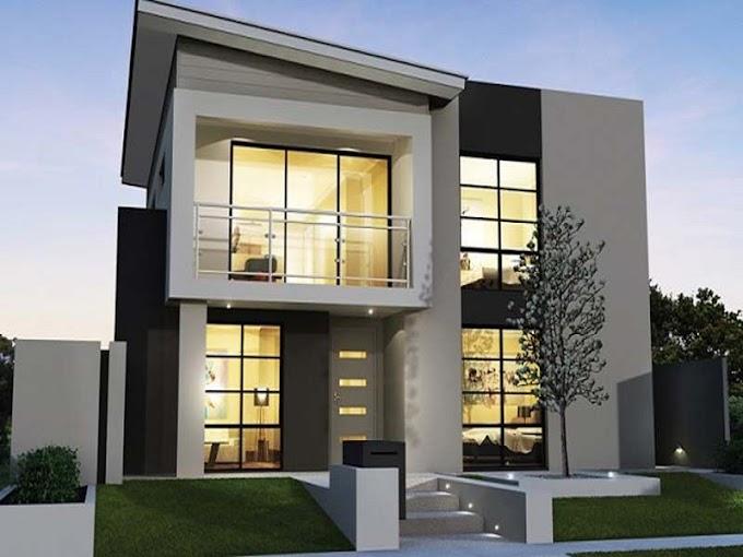 Desain Rumah 2 Lantai Kontemporer