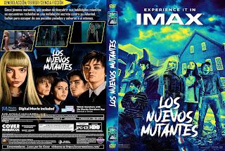 CARATULA LOS NUEVOS MUTANTES - THE NEW MUTANTS 2020[COVER DVD]