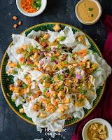 Rice Paper Crisps (Rice paper Nachos)