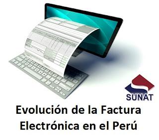 Evolución de la Factura Electrónica en el Perú