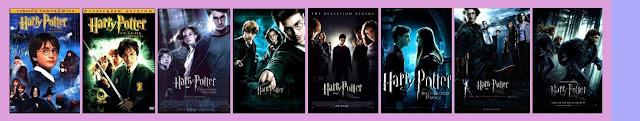 pósters de las películas de Harry Potter