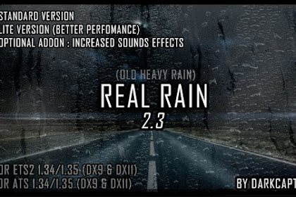 Real Rain v2.3 (Old Heavy Rain) By Darkcaptain