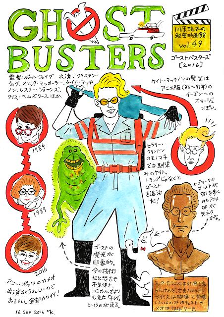 『ゴーストバスターズ』(2016)