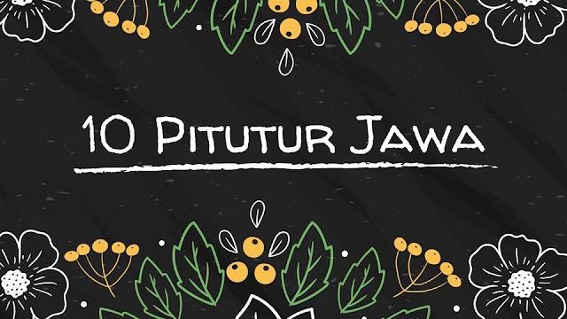 Pitutur Jawa dan Artinya