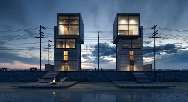 File Su ngôi nhà 4x4 bên bờ biển Kobe của kts Tadao ando