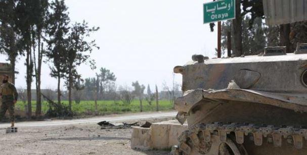 الجيش السوري يبدا هجوماً لاستعادة بلدة مسرابا في الغوطة الشرقية