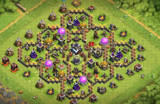 th9 gold and Elixir base