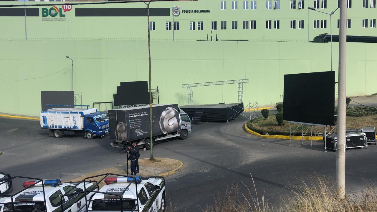 La sede regional occidente del sistema BOL-110 que opera en la av. Villalobos / ÁNGEL SALAZAR