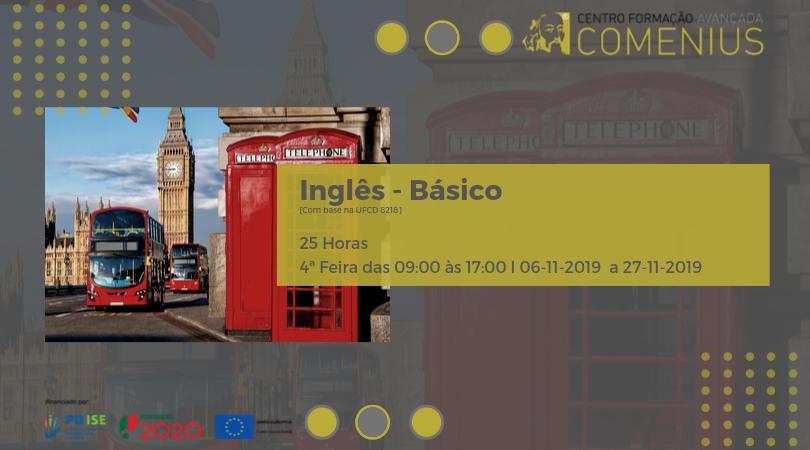 Curso grátis de Inglês Básico no Porto