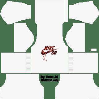 Baju DLS Nike Putih
