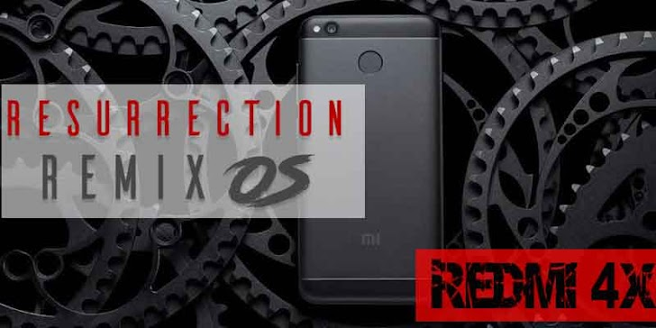 Cara Instal Rom Resurrection Remix 5.8.5 Final Official (Nougat 7.1.2) pada Redmi 4x (Santoni)