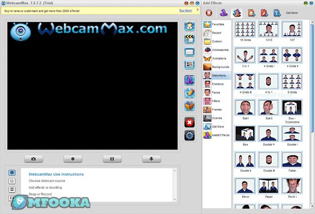 تحميل برنامج WebcamMax من ميديا فاير