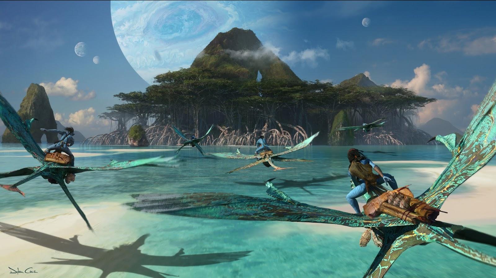 James Cameron shows filming underwater scenes in Avatar 2