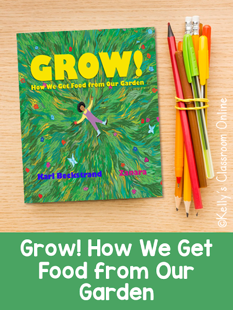 Learn where our food comes from with Grow! How We Get Food from Our Garden by Karl Beckstrand. Children learn that the food we eat comes from gardens.