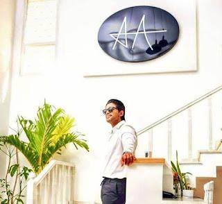 Allu Arjun In his Super Stylish Office