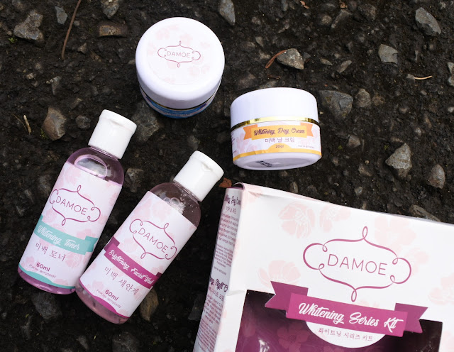 Review Damoe Whitening Series Kit
