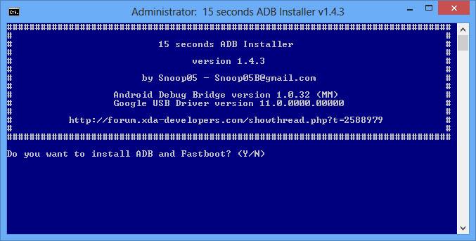ADB yaitu abreviasi dari Android Debug Bridge ADB INSTALLER