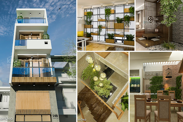 dự án Đức Linh Green - mẫu nhà dự án