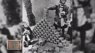 Uang di Jerman digunakan sebagai mainan