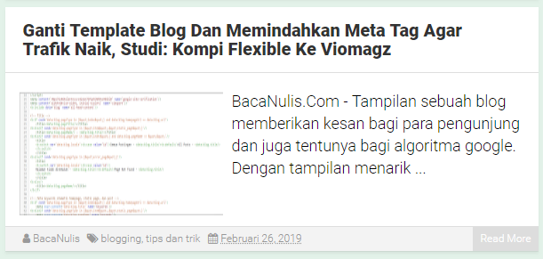 Ganti Template Blog Dan Memindahkan Meta Tag Agar Trafik Naik