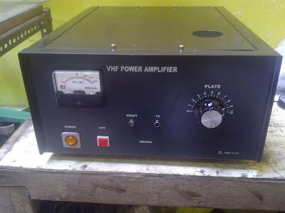 RF Power Amplifier: 500 Watt VHF Power Amplifier