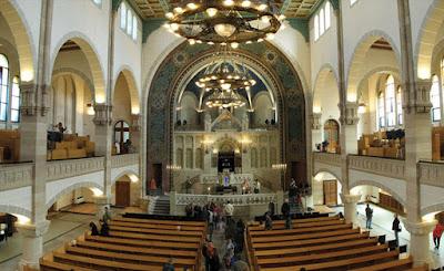 A sinagoga sefaradi Shaaré Tikva em Lisboa