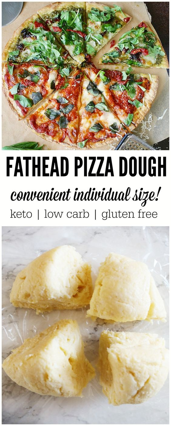 Fathead Pizza Dough- Low Carb  Amazing Recipe