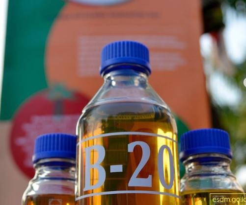 Bio Solat B20 Untuk Selanjutnya menjadi B100 dalam pengembangan