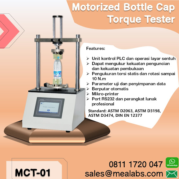 MCT-01 Motorized Cap Torque Tester