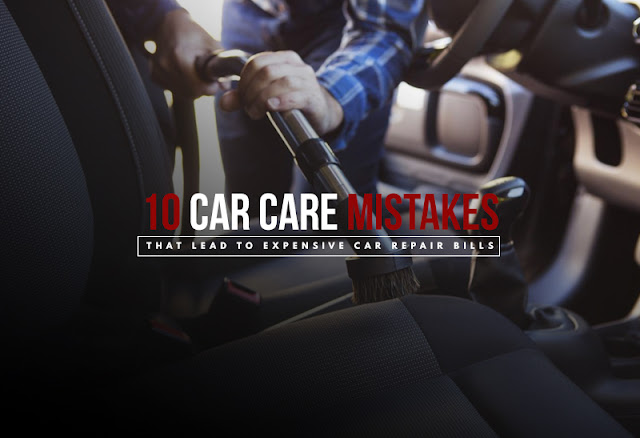 10 Car Care Mistakes That Lead To Expensive Car Repair Bills