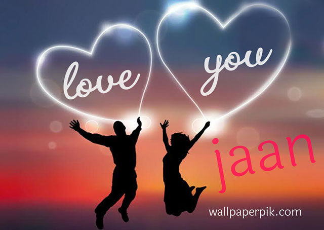 love you jaan photo image